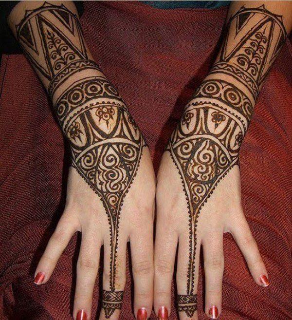 Fashion Arabic Style   Illustration   Description   Attractive Arabic Henna    – Read More –