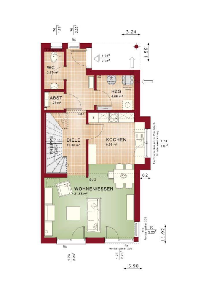 Variant 45-192 - #Einfamilienhaus von Hanse Haus GmbH \ Co KG - haus garten freizeit