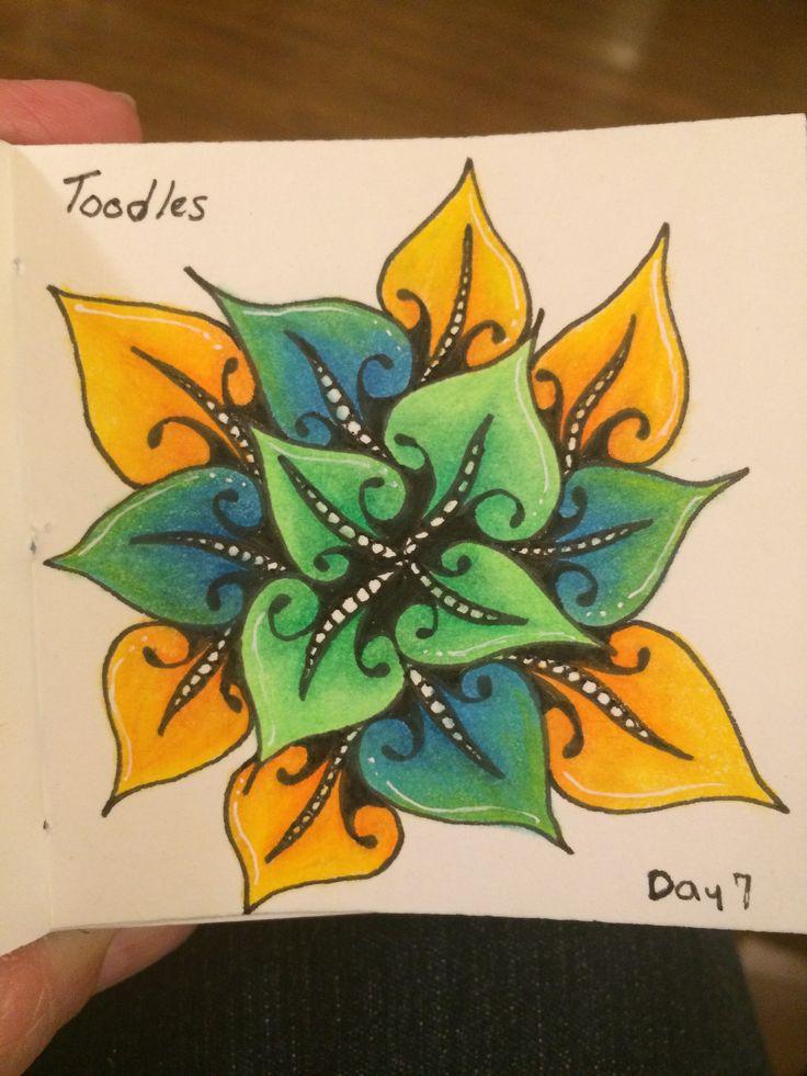 | Zentangle | Zenart | Zendoodle | the100dayproject | I Teach Tangling | Tangling |