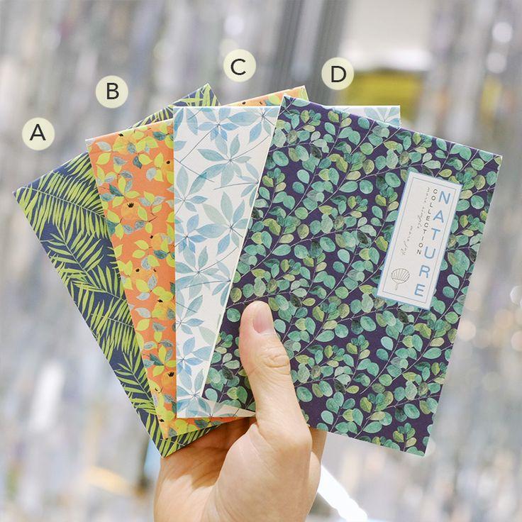 Jual Nature Collection Plain Notepad / Buku Catatan / Buku Tulis - pinkabulous | Tokopedia