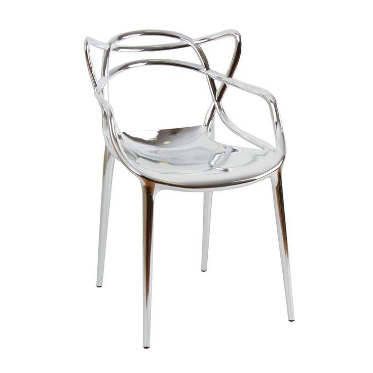 Sedia Philippe Starck modello Masters color argento. Preludio Noleggio, allestimenti e arredi  per eventi e matrimoni, wedding inspiration 2016/2017.