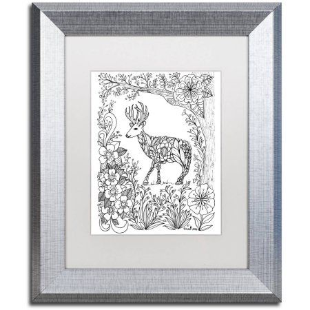 Trademark Fine Art Fairies and Woodland Creatures 29 inch Canvas Art ...