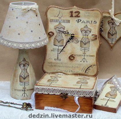 """Conjuntos de accesorios Hechos a mano. Masters Feria - kit de Hecho a mano """"de alta costura de París."""" Hecho a mano."""