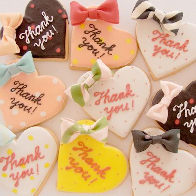 valentine cookies by thumb and cakes