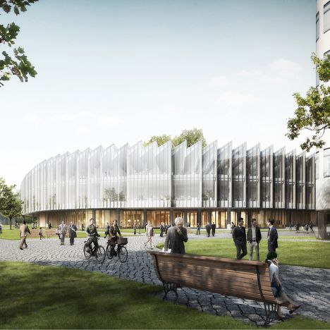 Herzog & de Meuron designs pharmaceutical research centre in Cambridge, UK