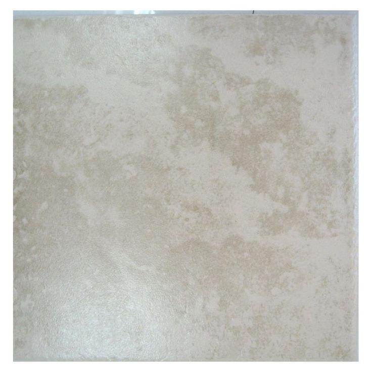 Surface source 12 x 12 sahara beige ceramic floor tile for Manhattan tan paint color