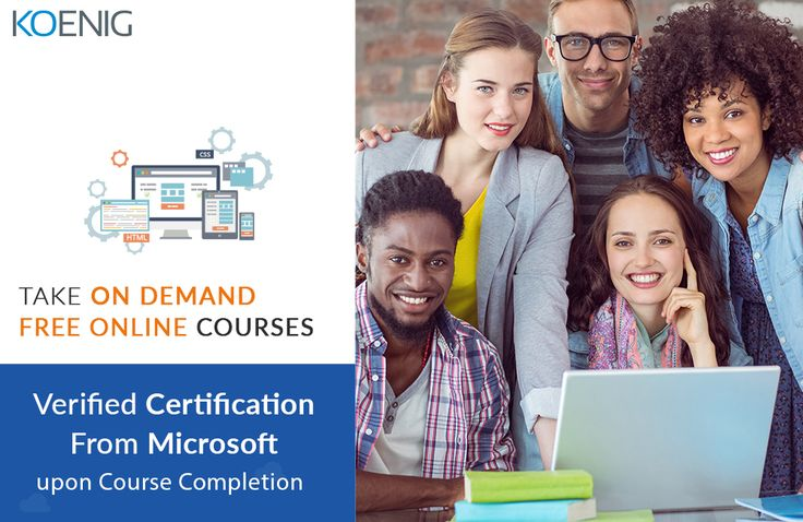 Looking for self-paced Microsoft sessions? Get access now and study at your ease. Click now to register : http://bit.ly/2qmdZpZ  Koenig Solutions #Elearning #MicrosoftTraining #MicrosoftCertification http://bit.ly/1PGcPYk