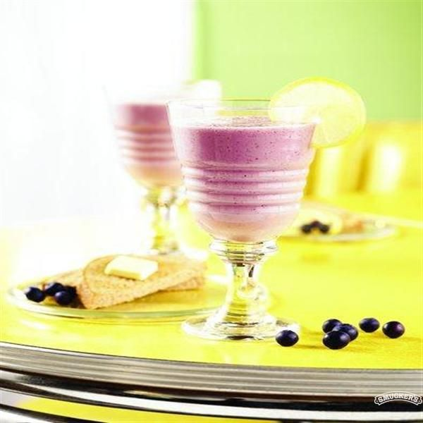 Blueberry Lemon Smoothie (sugar free) - Smucker's