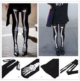 GOTH FASHION - Bare Bones Womens Tights