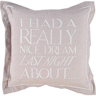 Grey Embroidered Cushion 50x50cm