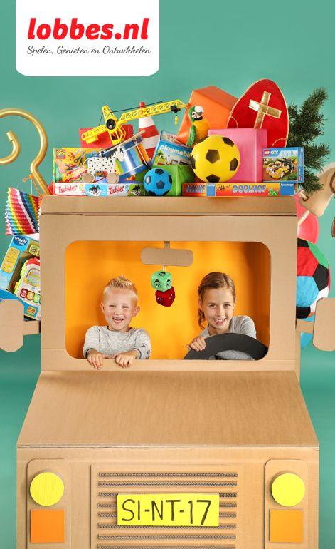 Bekijk de lobbes Sint Catalogus 2017 online! In dit extra dikke speelgoedboek vind je 240 pagina's met het leukste speelgoed voor het najaar. Zoals houten speelgoed, knutselspullen en spelletjes. Maar ook uitdeelcadeautjes voor scholen en organisaties. Ben je benieuwd? Neem dan snel een kijkje!