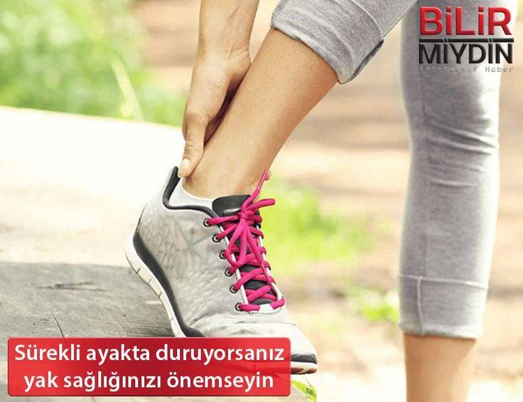 Sürekli ayakta duruyorsanız ayak sağlığınızı önemseyin - https://bilirmiydin.com/surekli-ayakta-duruyorsaniz-ayak-sagliginizi-onemseyin/