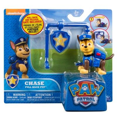 Paw Patrol - Pull Back Pup - Chase