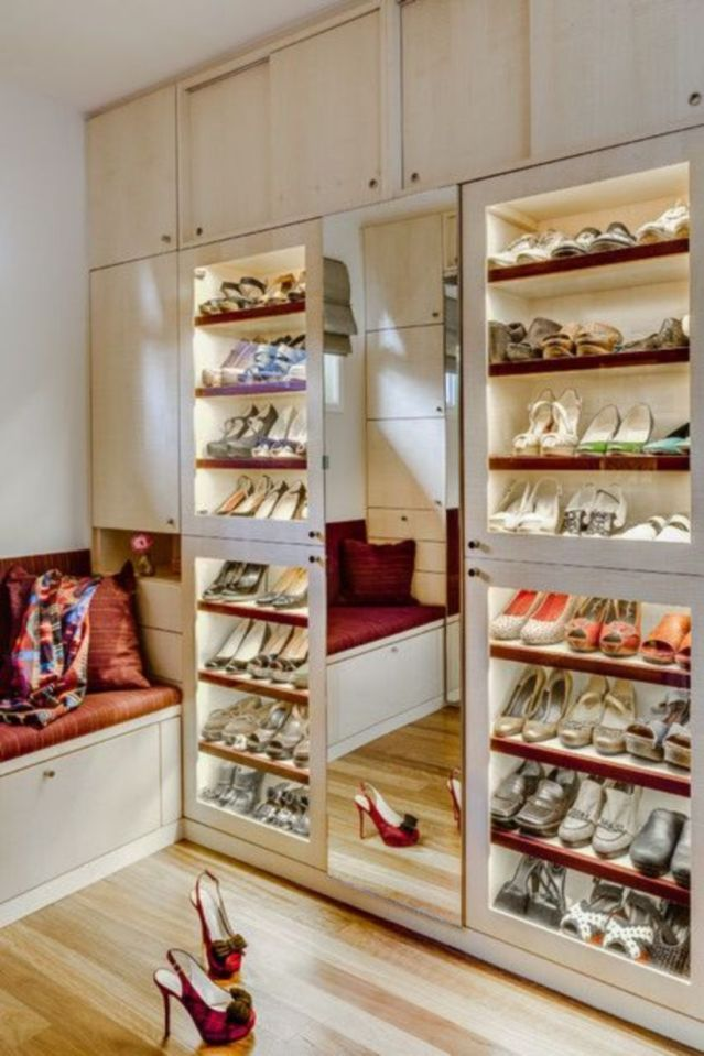 The Best Women\'s Shoe Rack Design Ideas That You Can Try 07 ...