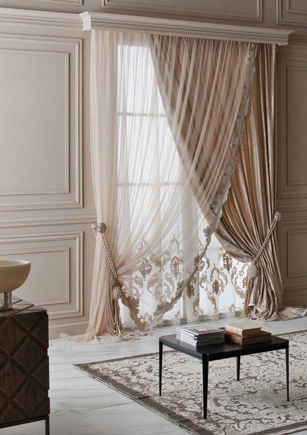 Коллекция тюлевых и портьерных тканей от известной итальянской компании Chicca Orlando теперь в салоне «Декор Буржуа».