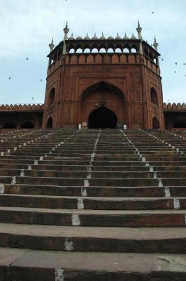 Jama Masjid a Old #Delhi, © Leonardo Francesco Paoluzzi