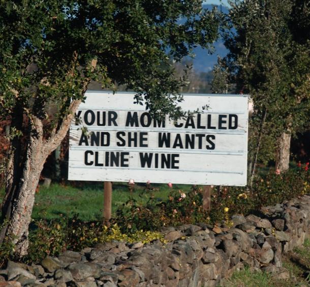 HA!: Wom Boards, Mothers Day, Gifts Ideas, Cline Wine, Marketing Ideas