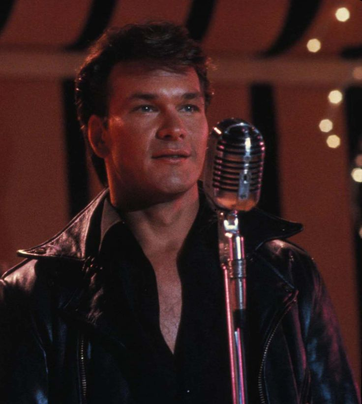 Patrick Swayze in Dirty Dancing....this will always be in my top 5 movies.