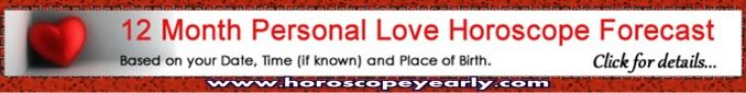 Personal Horoscope - If you have a serious, perhaps urgent problem to resolve, whether it be concerning money, bad luck, love or any other large or small grievance, to help you, we are offering you a Free Personal Clairvoyance Horoscope and we will also reveal your lucky numbers, all free of charge. Click Here To Learn More: http://www.horoscopeyearly.com