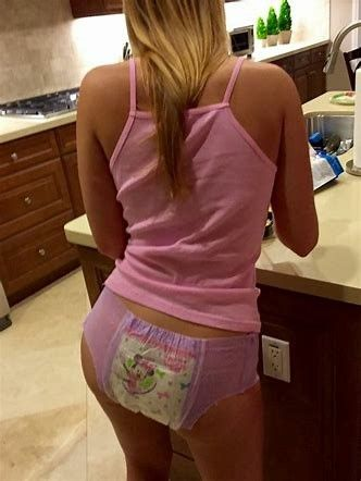 come and get your bedtime diaper on and forget about wearing pull
