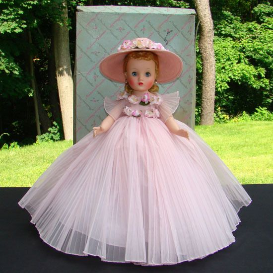 1959 Elise Doll Pink Bridesmaid Madame Alexander 1830 in Box Absolutely Stunning