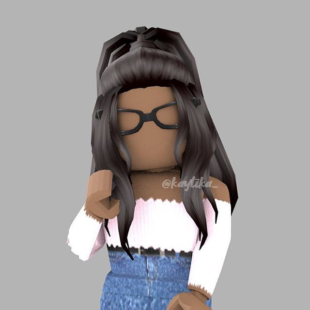 Cute Roblox Character Black Hair Roblox Roblox Pictures Roblox