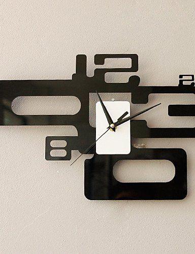 Orologio da parete moderno di moda in numero artistico caratterizzato il design EURO 39,69