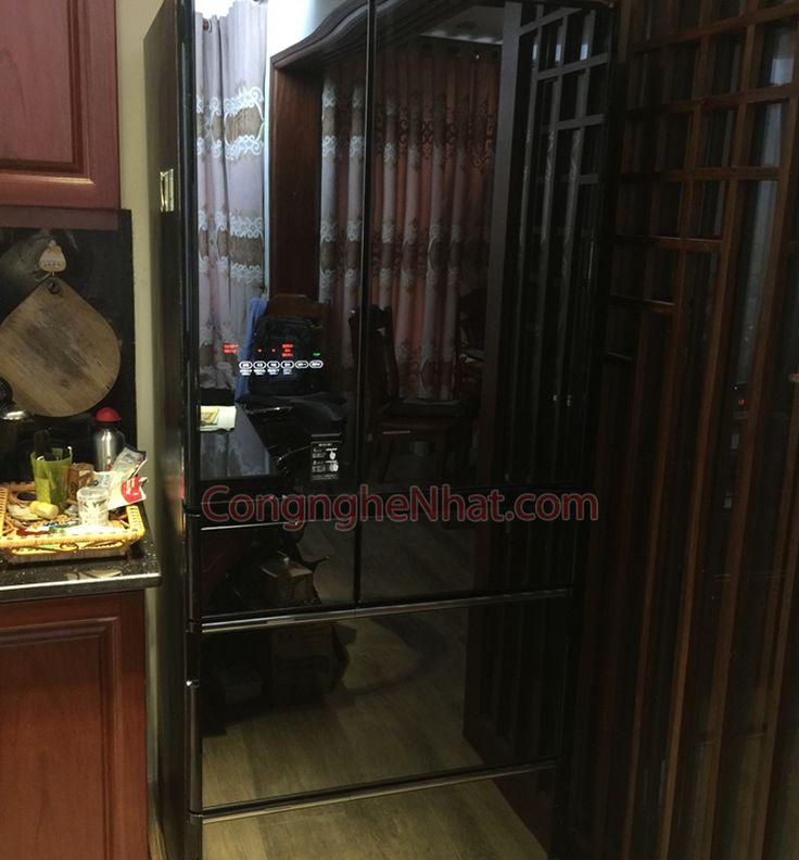 Tủ lạnh Hitachi R-X6700F (2)