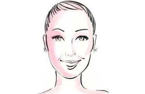 Vlnité vlasy pro různé typy obličejů