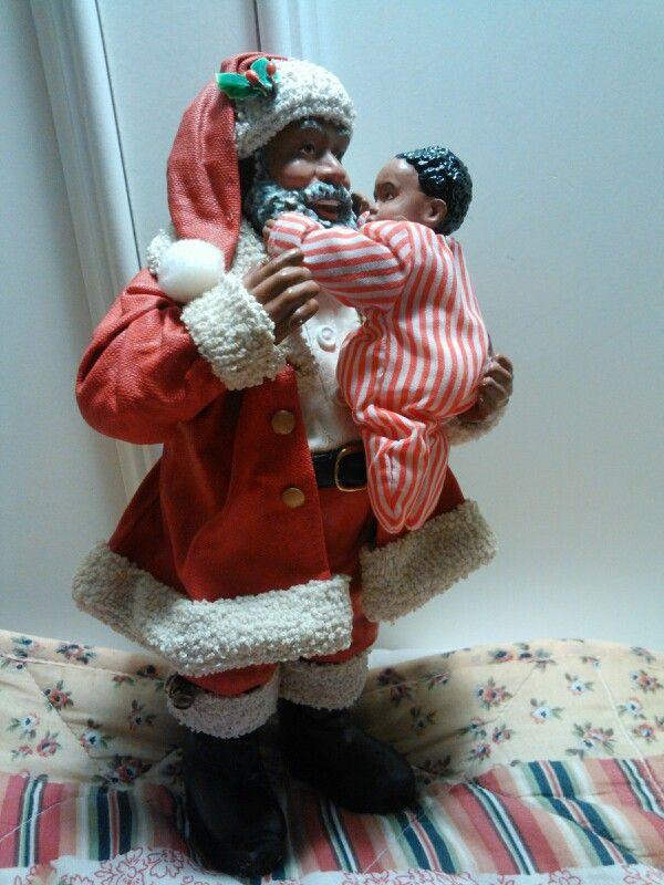 "KSA Collectibles ""A Gift from Heaven"" | Black Santa Claus ..."