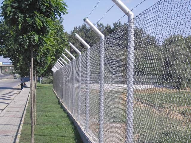 Anti Intruder Mesh Fence High Security Protective Level And Rust Resistance In 2020 Mesh Fencing Wire Mesh Fence Chain Link Fence Panels
