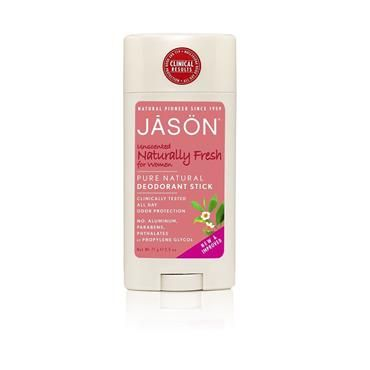 Jason Fresh Unscented Deodorant Stick for Women 70g   Nourish Health & Beauty Store  Jason Fresh Unscented Deodorant Stick for Women is clinically proven to provide all day protection against odor. Specially formulated for sensitive skin, our formula features Zinc Ricinoleate, Corn Starch and Baking Soda to neutralize odor. Grapefruit Seed Extract, known for its antimicrobial properties, helps fight odor-causing bacteria.