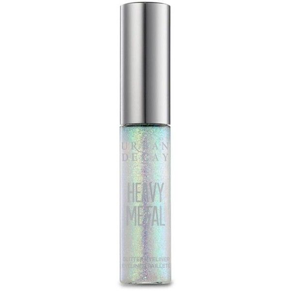 Urban Decay Distortion Heavy Metal Glitter Eyeliner (1.465 RUB) ❤ liked on Polyvore featuring beauty products, makeup, eye makeup, eyeliner, glitter, distortion, urban decay eye liner, gel eyeliner, urban decay and glitter eyeliner
