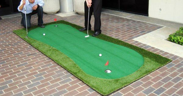 Ultimate Portable Green Golf Putting Green Indoor Putting Green