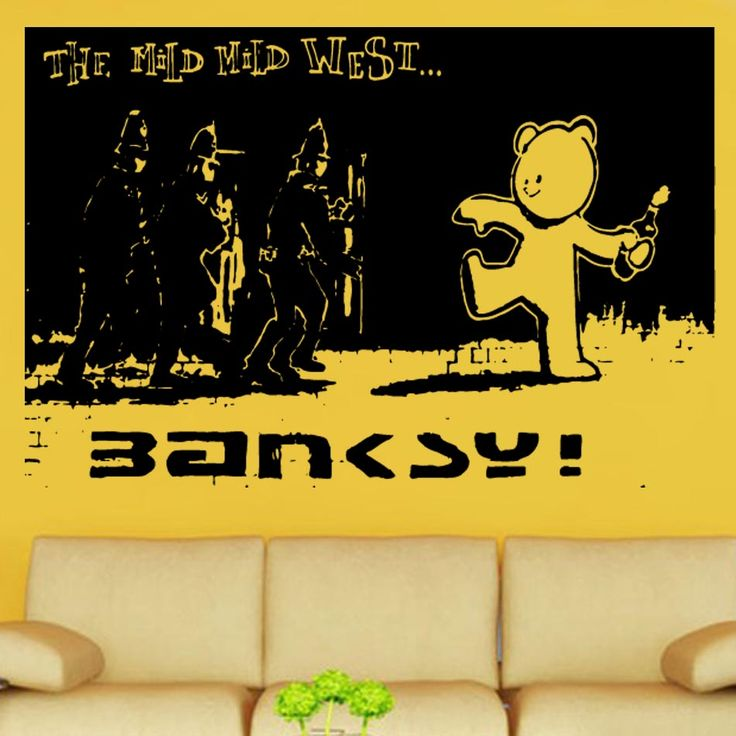35 best Banksy Wall Art images on Pinterest | Banksy wall art, Vinyl ...