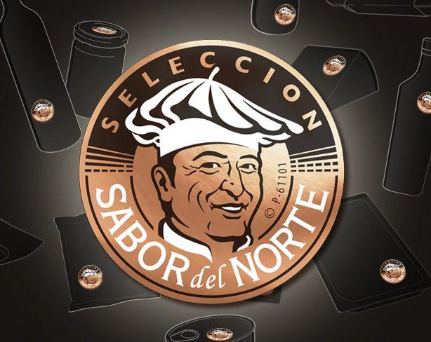 Diseño de sello sabor del Norte