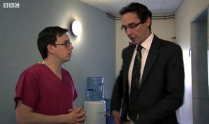 Holby City (15/47) Hanssen told Digby he was the official, approved and only candidate for Doctor of the Year.