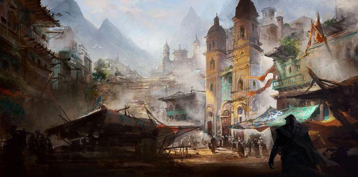 Assassins Creed Black Flag concept art | Assassin's Creed ...