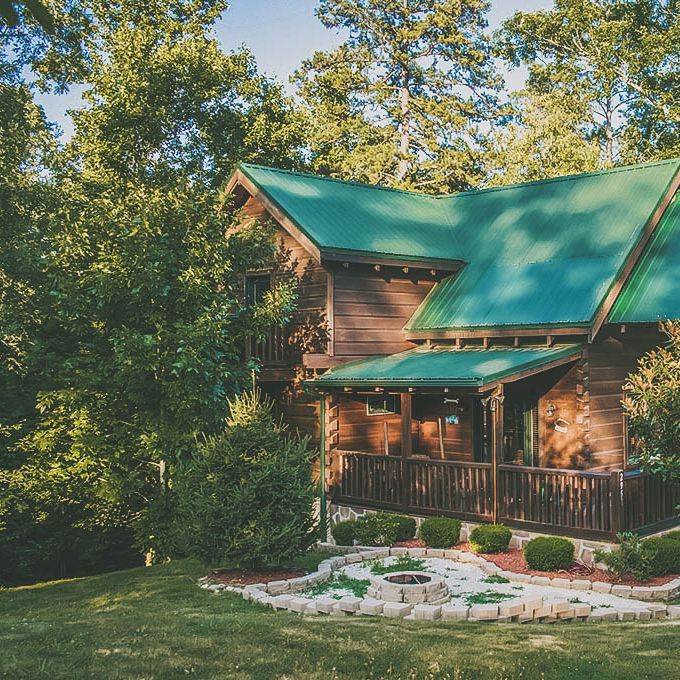 Cabin Awesome  Awesome Getaway  Bedroom Cabins  5 Bedroom  Adventure Featured  Featured Cabin  Cabins Tennessee  Tucked  Filled