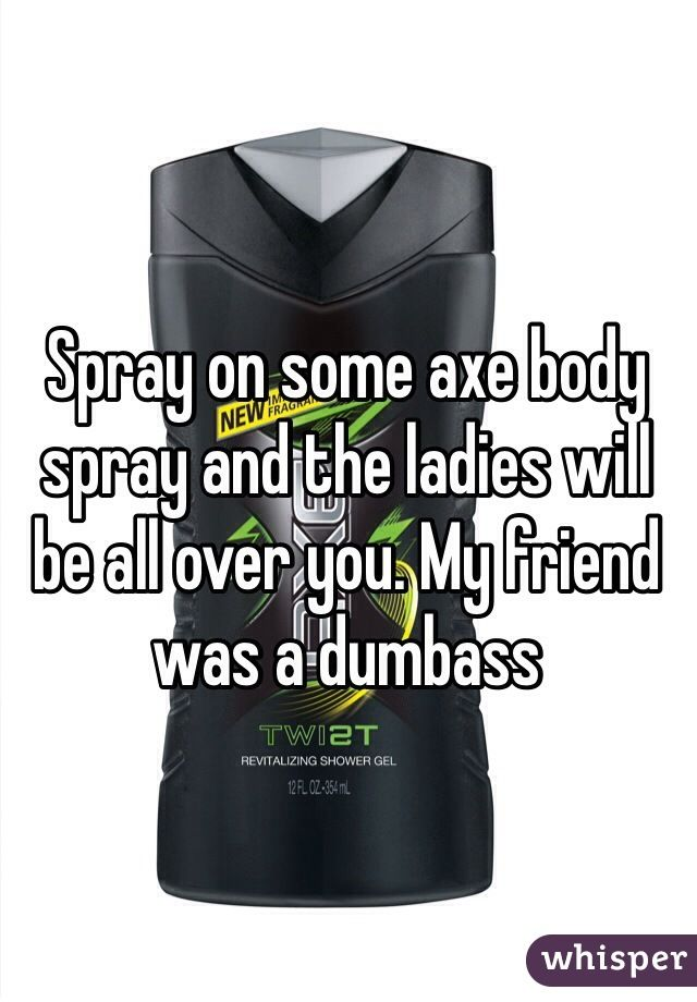 What are the ingredients in AXE Body Spray?