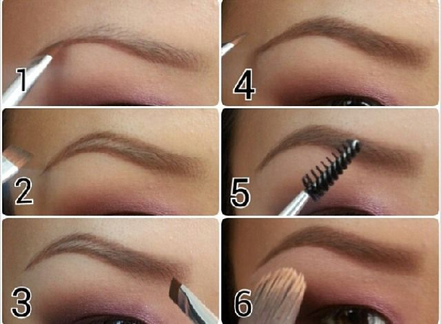 """""""How To"""": Fill in brows"""