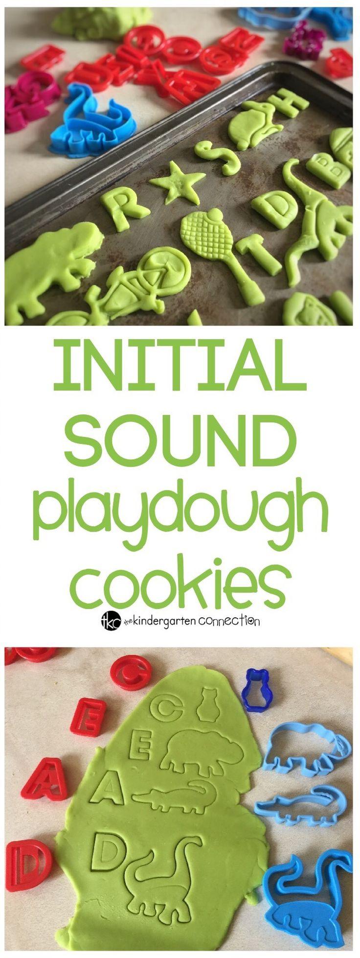 Initial sounds in playdough