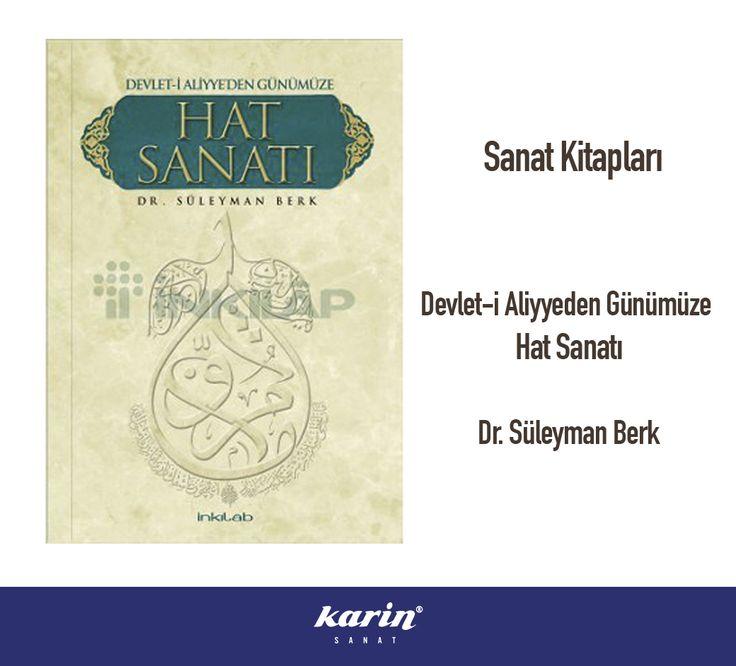 Sanat Kitapları http://bit.ly/20YIbyU  #sanatkitapları #artbook #hatsanatı #artwork #süleymanberk #karinsanat