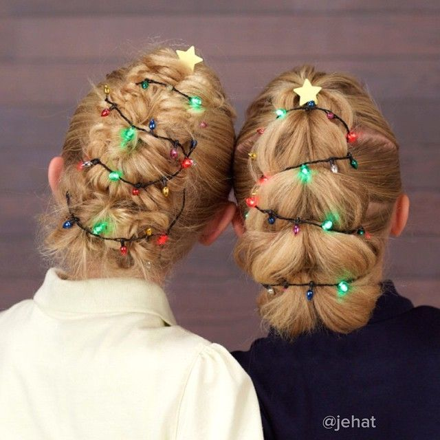 123 Best Christmas Hairstyles Images On Pinterest