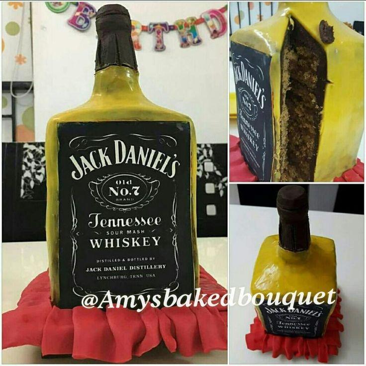 Jack Daniel - Cake by Debashree Garg