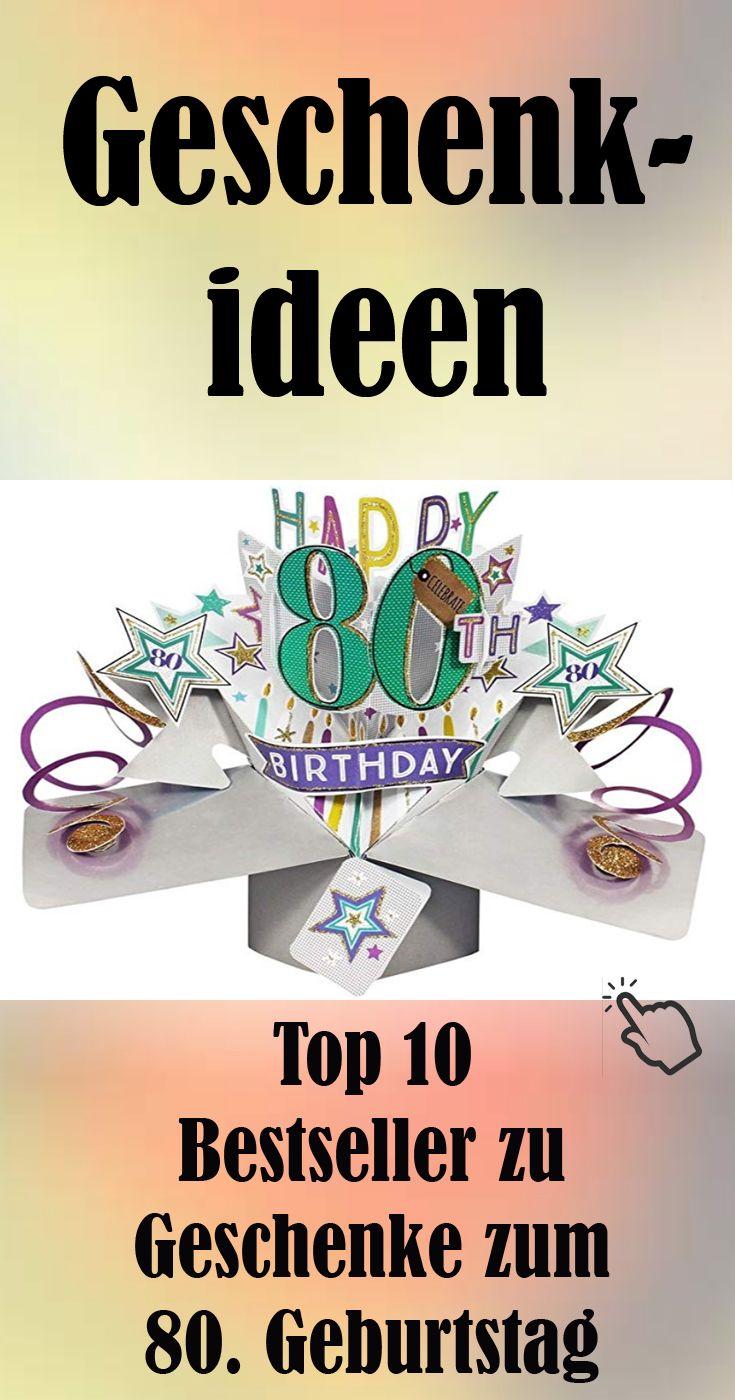 Top 10 Geschenkideen Zum 80 Geburtstag Geschenke Fur Den 80