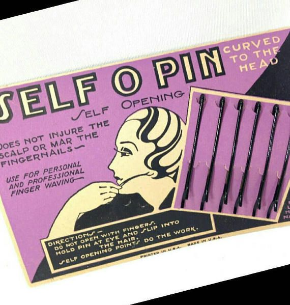 Check out this item in my Etsy shop https://www.etsy.com/ca/listing/585918251/1920s-flapper-hair-pins-clips-barettes