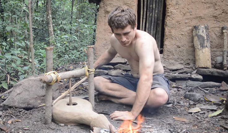 Primitive Technology: How To Make A Forge... - http://www.ecosnippets.com/diy/primitive-technology-how-to-make-a-forge/