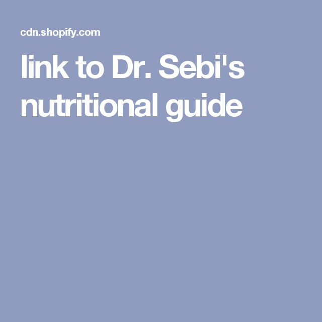 dr sebi nutritional guide Do you follow the dr sebi nutritional guide for those of you who don't fully understand what the nutritional guide is - it is a list of foods that dr sebi has determined to be least detrimental for fueling the body and allowing the body to heal and function optimally over the years, foods.
