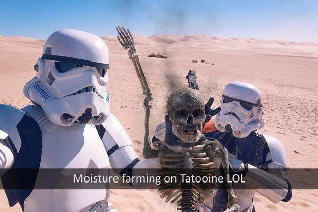 """This selfie.   26 Jokes Guaranteed To Make """"Star Wars"""" Fans Laugh Every Time"""